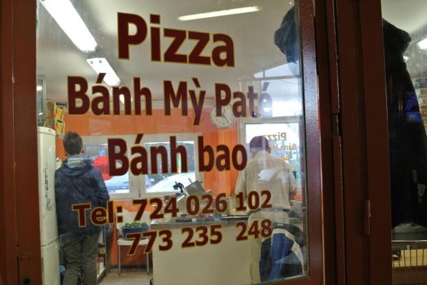 Našli jste v Sapě tyto dveře?  Pak jste tu správně na Bahn Mi!