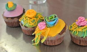 Muffiny s kytičkami
