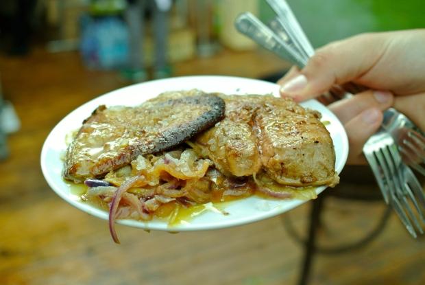 Husí játra: Foie Gras s cibulkou