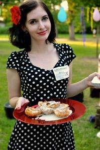 Autorka receptu na grilované hrušky s nivovým přelivem je krásná holka :)