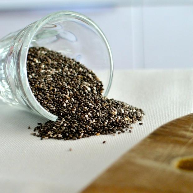 Chia seminka po namoření nabobtnají až do trojnásobn velikosti.