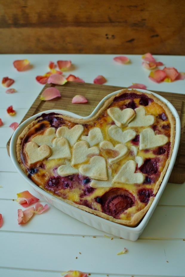 Valentýnský koláč