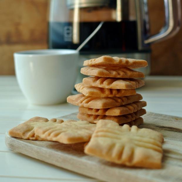 Máslové sušenky k čaji