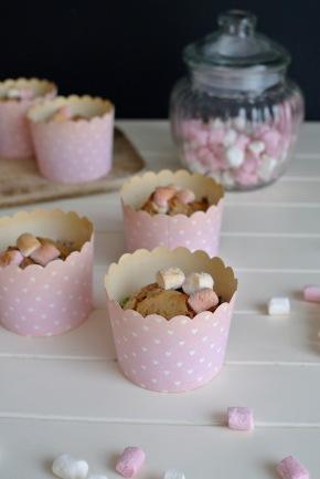 Marshmallow muffiny