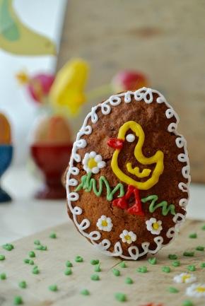 velikonoční perníková vajíčka