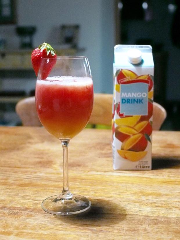 Melounovo-vodkový koktejl