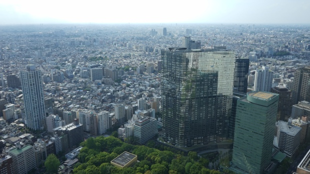 Tokio je neuvěřitelně obrovské.