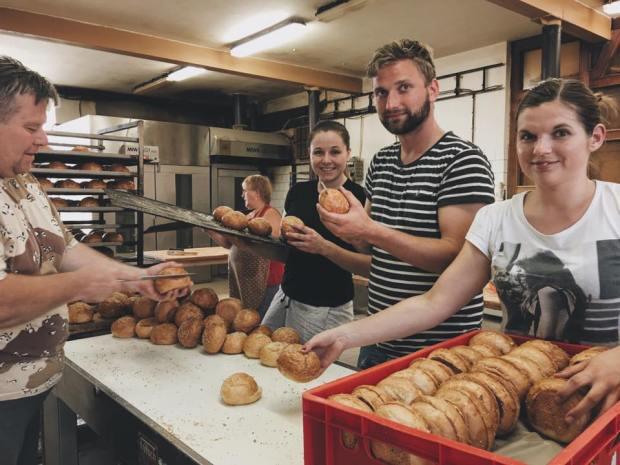 Šichta v pekárně